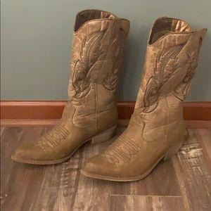 Women's Coconut Cowboy Boots